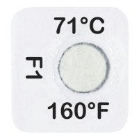 Tempil 26256 Series 21 Tempilable Temperature Indicating Labels