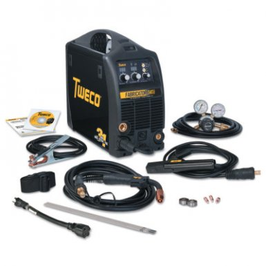 Thermadyne W1003142 Tweco Fabricator 141i MIG/Stick/TIG Welder with Cart