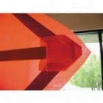 TrafFix Devices,Inc. 24036-MEZ VizCon Mesh Roll Up Sign with Sewn Corner Pockets