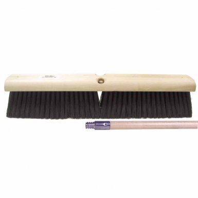Weiler 44862 Black Polypropylene Medium Sweep Brushes