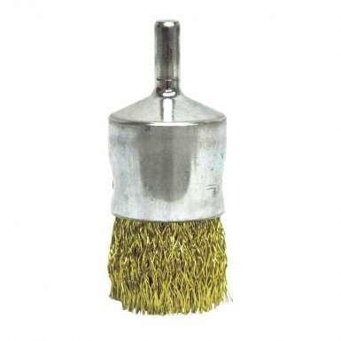 Weiler 10091 Coated Cup Crimped Wire End Brush