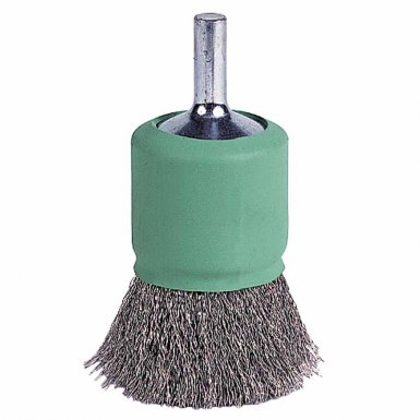 Weiler 11007 Coated Cup Crimped Wire End Brush
