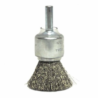 Weiler 11014 Coated Cup Crimped Wire End Brush