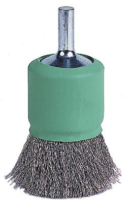 Weiler 11016 Coated Cup Crimped Wire End Brush