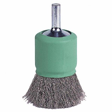 Weiler 11017 Coated Cup Crimped Wire End Brush