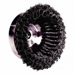 Weiler 12556 Double Row Heavy-Duty Knot Wire Cup Brushes