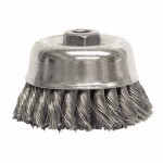 Weiler 12756 Double Row Heavy-Duty Knot Wire Cup Brushes