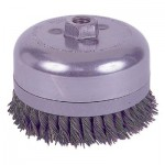 Weiler 12676 Extra Heavy Duty Knot Wire Cup Brushes