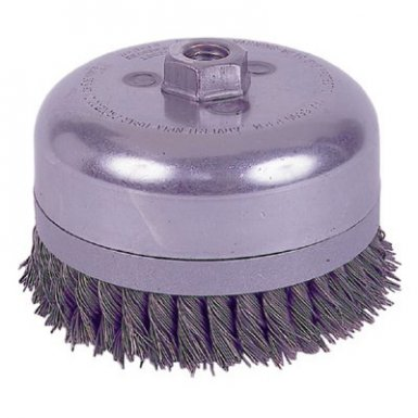 Weiler 13301 Extra Heavy Duty Knot Wire Cup Brushes