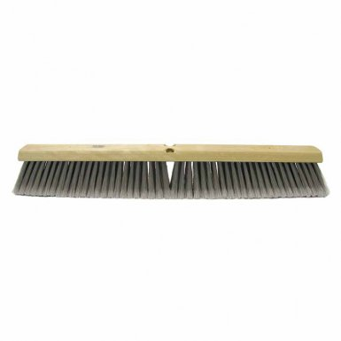 Weiler 44858 Flagged Silver Polystyrene Fine Sweep Brushes