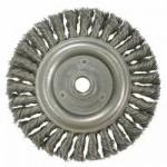 Weiler 9386 Roughneck Stringer Bead Twist Knot Wire Wheels
