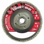 Weiler 50134 Saber Tooth Abrasive Flap Discs