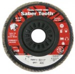 Weiler 50117 Saber Tooth Trimmable Ceramic Flap Discs