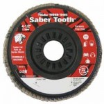 Weiler 50119 Saber Tooth Trimmable Ceramic Flap Discs
