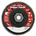 Weiler 50122 Saber Tooth Trimmable Ceramic Flap Discs