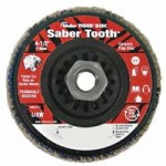 Weiler 50123 Saber Tooth Trimmable Ceramic Flap Discs