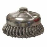 Weiler 12356 Single Row Heavy-Duty Knot Wire Cup Brushes