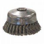 Weiler 12256 Single Row Heavy-Duty Knot Wire Cup Brushes