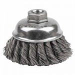 Weiler 12746 Single Row Heavy-Duty Knot Wire Cup Brushes