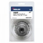 Weiler 13025P Single Row Heavy-Duty Knot Wire Cup Brushes