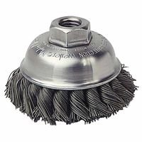 Weiler 13150 Single Row Heavy-Duty Knot Wire Cup Brushes