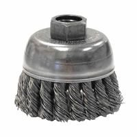 Weiler 13283 Single Row Heavy-Duty Knot Wire Cup Brushes