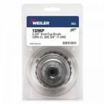 Weiler 13286P Single Row Heavy-Duty Knot Wire Cup Brushes