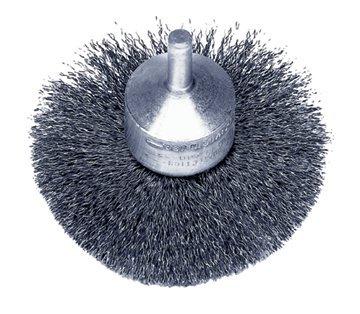 Weiler 10041 Stem-Mounted Circular Flared End Brushes