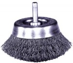 Weiler 14300 Stem-Mounted Crimped Wire Cup Brushes