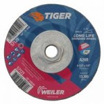 Weiler 57120 Tiger A24S Long Life Depressed Center Grinding Wheels