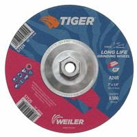 Weiler 57124 Tiger A24S Long Life Depressed Center Grinding Wheels