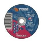 Weiler 57063 Tiger Aluminum Oxide Type 1 Cutting Wheel