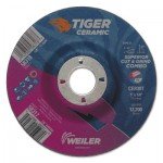 Weiler 58317 Tiger Ceramic Combo Wheels