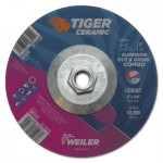 Weiler 58320 Tiger Ceramic Combo Wheels