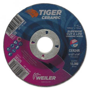 Weiler 58325 Tiger Ceramic Grinding Wheels