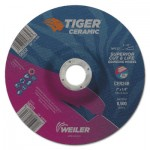 Weiler 58331 Tiger Ceramic Grinding Wheels