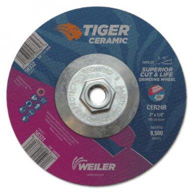Weiler 58332 Tiger Ceramic Grinding Wheels