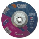 Weiler 58330 Tiger Ceramic Grinding Wheels