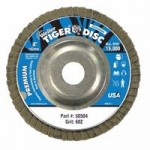 Weiler 50504 Tiger Disc Angled Style Flap Discs