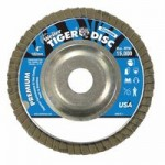 Weiler 50506 Tiger Disc Angled Style Flap Discs