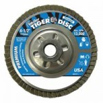 Weiler 50509 Tiger Disc Angled Style Flap Discs
