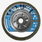 Weiler 50510 Tiger Disc Angled Style Flap Discs