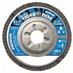 Weiler 50516 Tiger Disc Angled Style Flap Discs