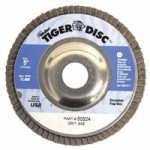 Weiler 50524 Tiger Disc Angled Style Flap Discs
