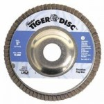 Weiler 50525 Tiger Disc Angled Style Flap Discs
