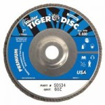Weiler 50534 Tiger Disc Angled Style Flap Discs