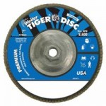 Weiler 50541 Tiger Disc Angled Style Flap Discs