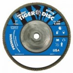 Weiler 50545 Tiger Disc Angled Style Flap Discs