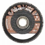Weiler 50554 Tiger Disc Angled Style Flap Discs