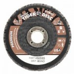 Weiler 50555 Tiger Disc Angled Style Flap Discs